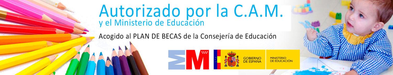 CENTRO AUTORIZADO POR LA C.A.M. Y POR EL MINISTERIO DE EDUCACIÓN