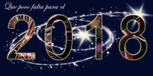 Que poco falta para Año Nuevo